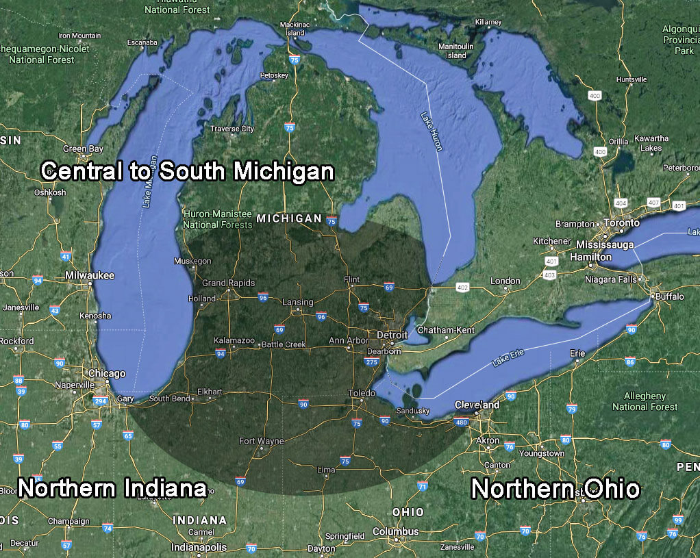 Timber Region Map